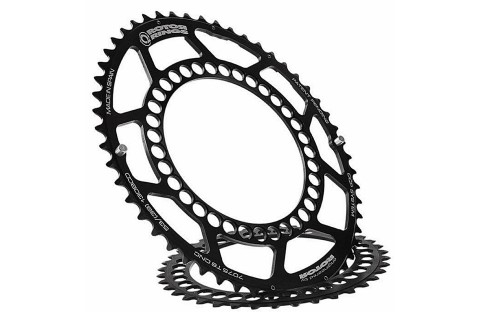Rotor Q chainrings with BCD 130mm