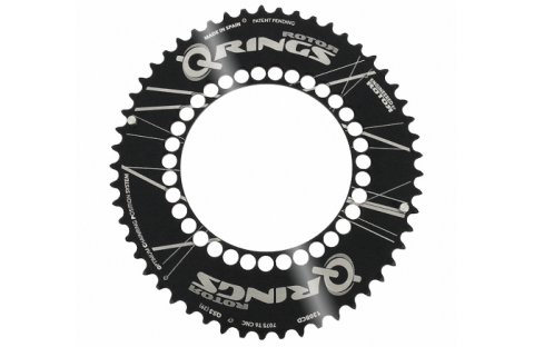 ROTOR Aero Q-rings chainring variations with BCD 130mm