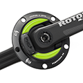 NGeco Rotor ALDHU Powermeter-Set Road