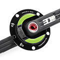 NG Road Rotor 3D+ with crank set